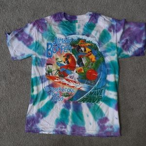 Jimmy Buffett Summerzcool Tour T Shirt 2009